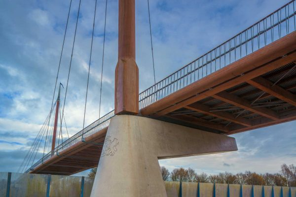 Fietsbrug A28 Harderwijk
