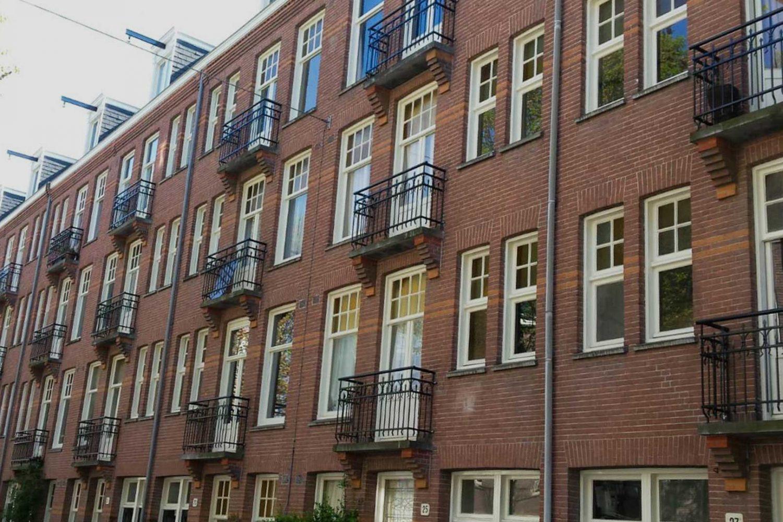 Franse balkonhekken Zaagmolenstraat e.o. Amsterdam